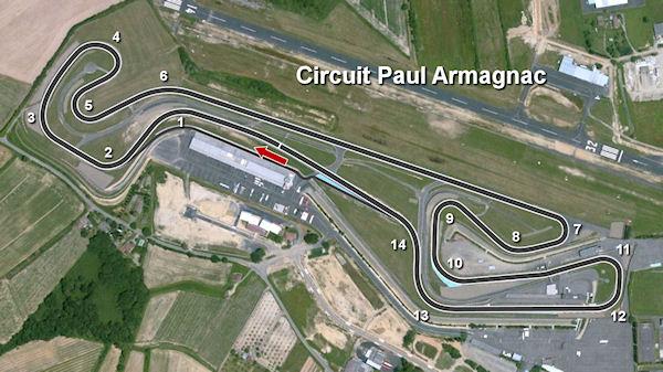 Circuito Nogaro : Nogaro circuit ffsa race u mracing